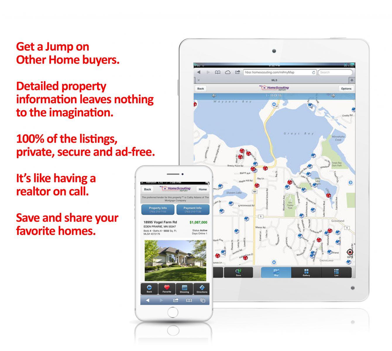 Mobile MLS Carter Group Realtor App